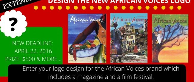 DESIGN THE NEW AFRICAN VOICES LOGO